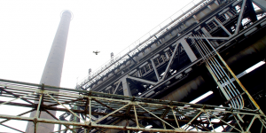Septentrio inspects nuclear power plant with drones