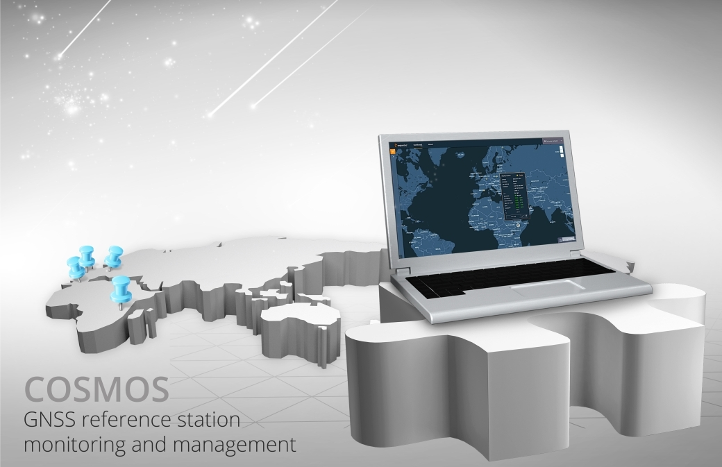 COSMOS GNSS receiver monitor septentrio