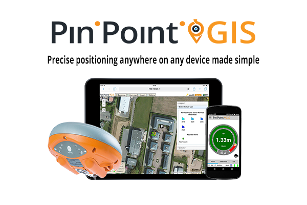 Precise positioning on any device made simple with PinPoint GIS